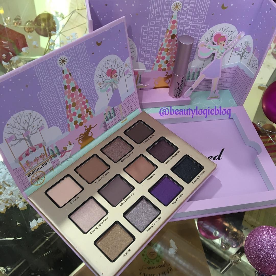 Toofaced Holiday 2016 Christmas In New York Merry Macaroons Palette