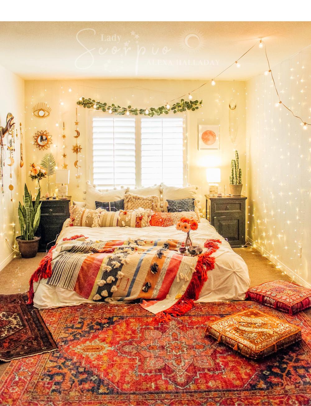 Celestial Wall Hanging Bedroom Inspo