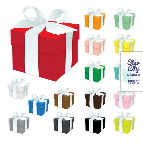 gift box clip art box clipart present clipart by starcitydesigns rh pinterest com gift box clipart vector gift box clipart png