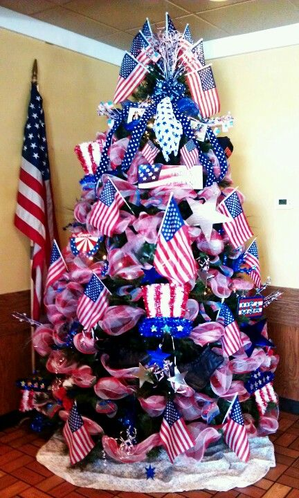 4th of July or Memorial Day | Patriotic christmas ...