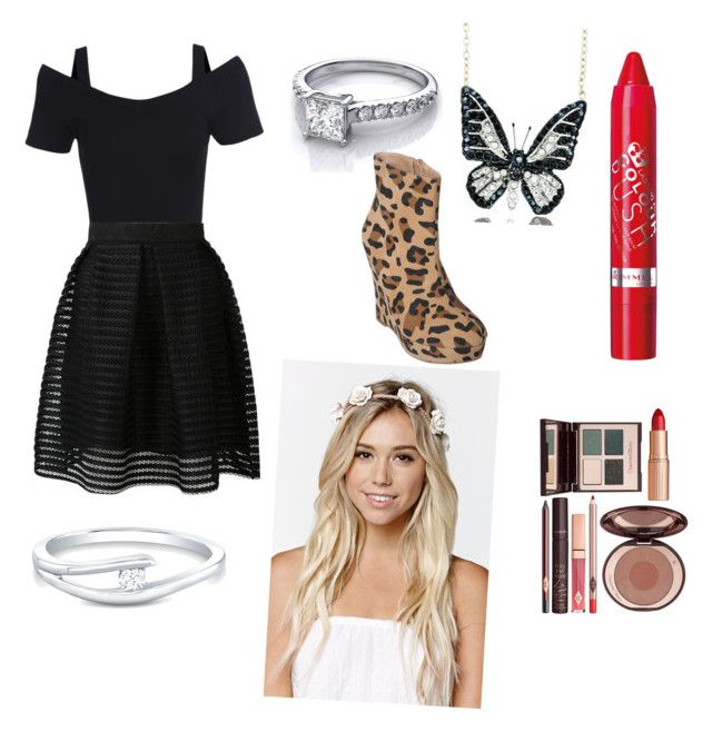 """TALIA OUTFIT 11"" by solisdancer on Polyvore featuring Rimmel, Andrew Hamilton Crawford, Charlotte Tilbury, Journee Collection and With Love From CA"