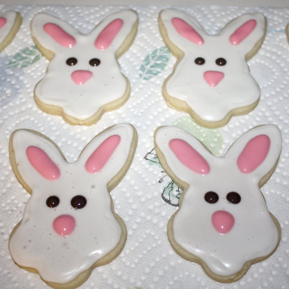 Images For > Easter Bunny Sugar Cookies
