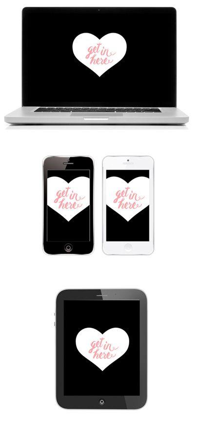 Pretty Tech Free Valentines Desktop Wallpaper Download Click
