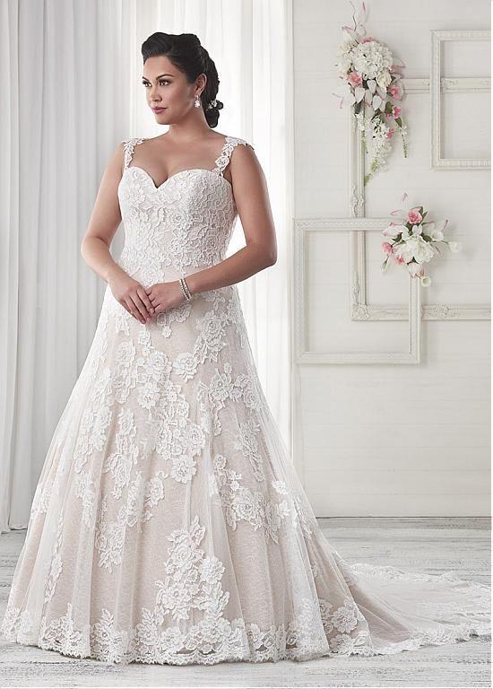 comprar Maravillosa de tul de novia de escote una línea de vestidos ...