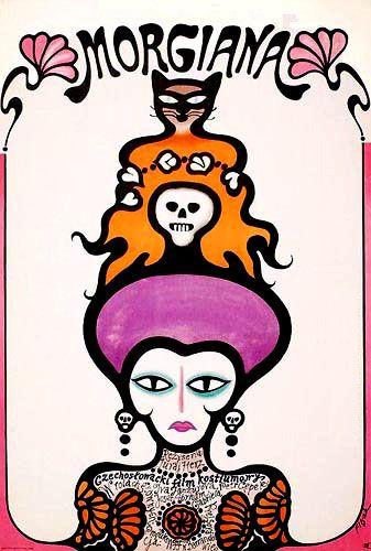Film poster for Morgiana, 1972/1973