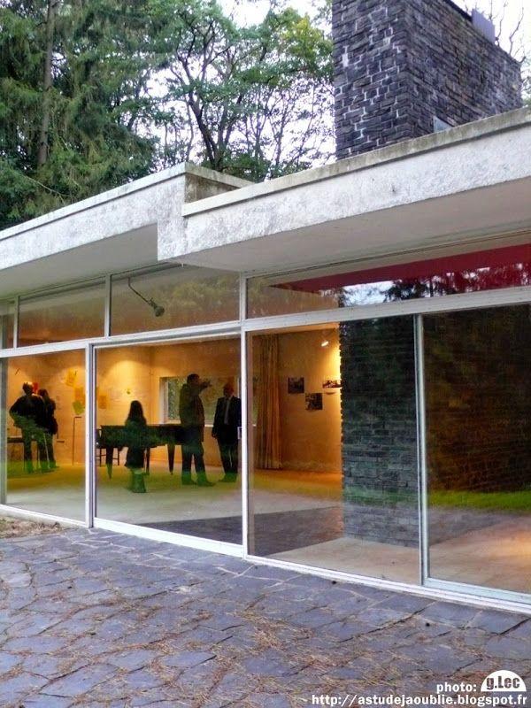 Bruxelles uccle maison bandin architecte constantin l for Construction maison architecte