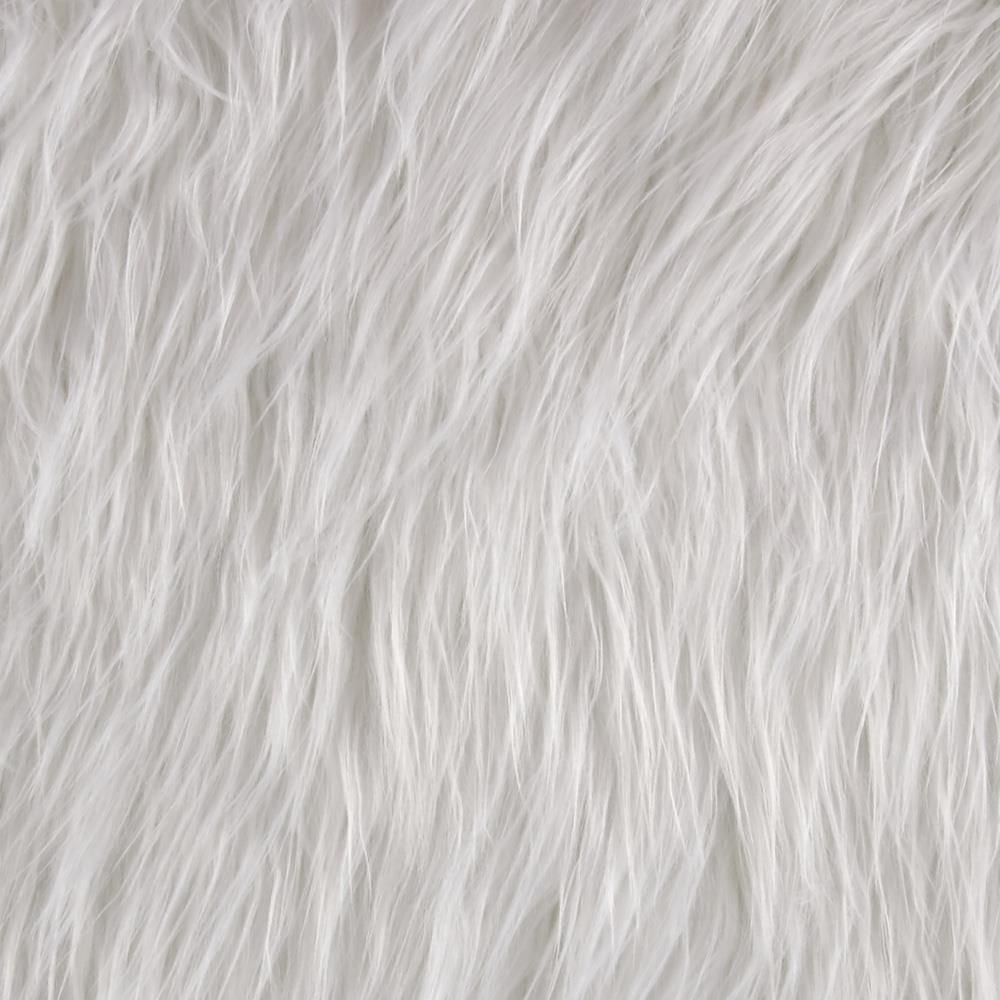 Shannon Faux Fur Gorilla White From Fabricdotcom From