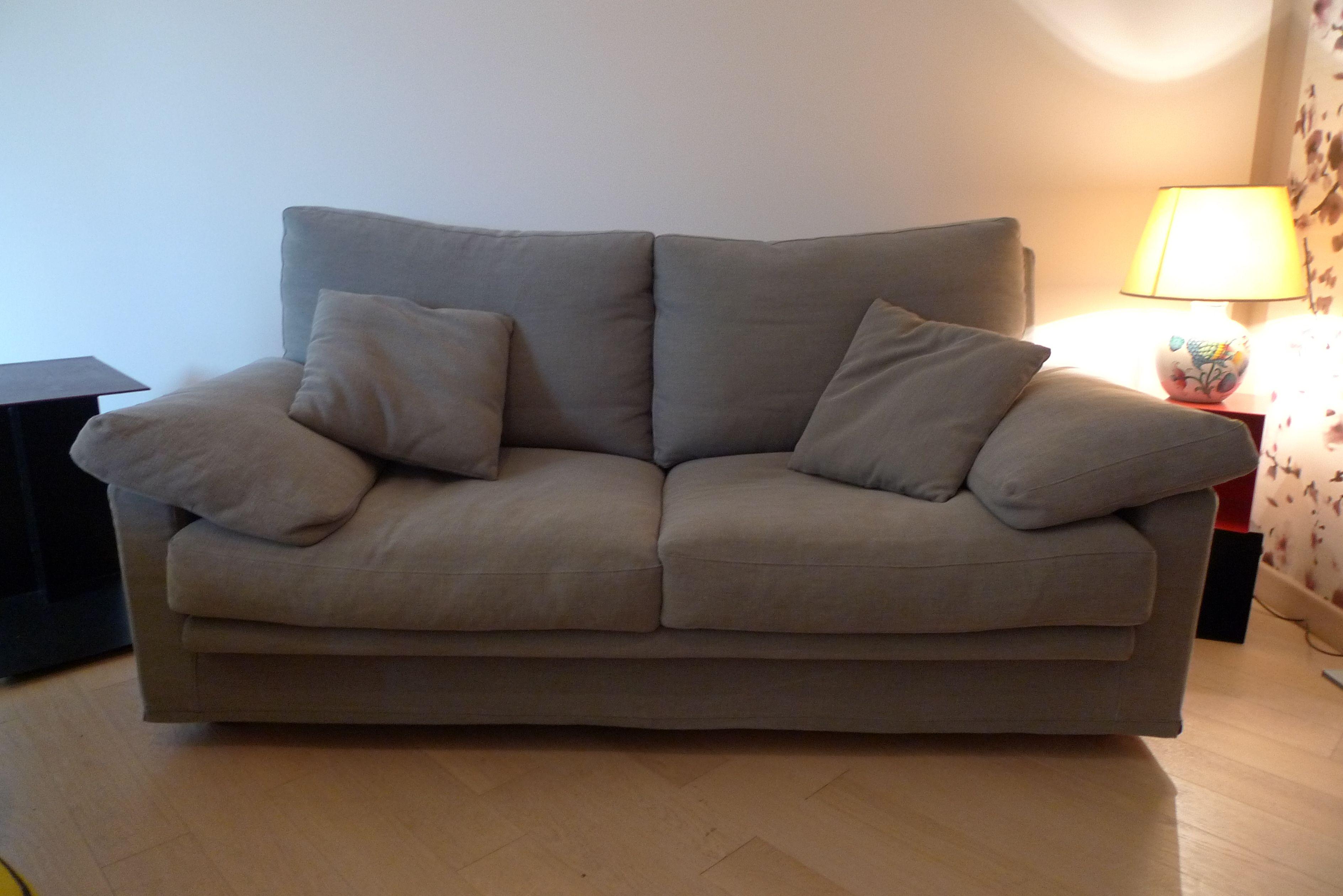 Nostro recente restauro e nuovo rivestimento divano Flexform ...