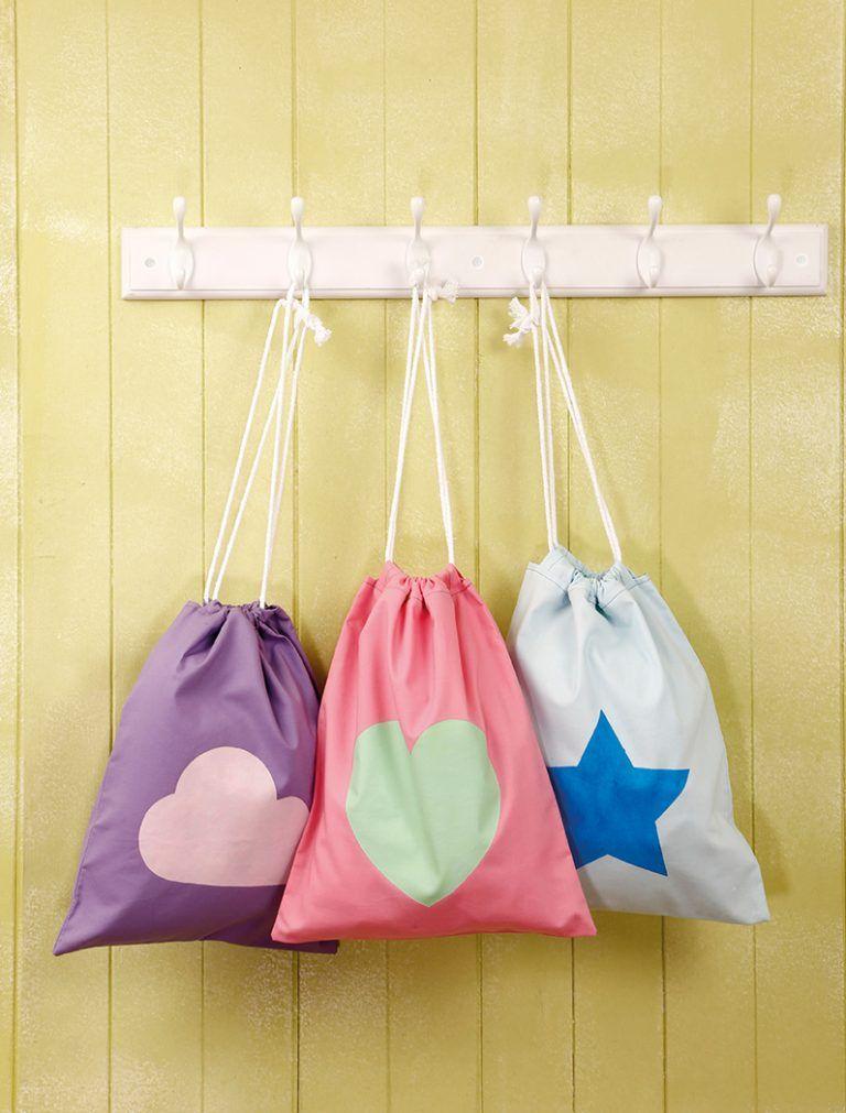 LS41 screenprint bag Love sewing, Quick sewing gifts