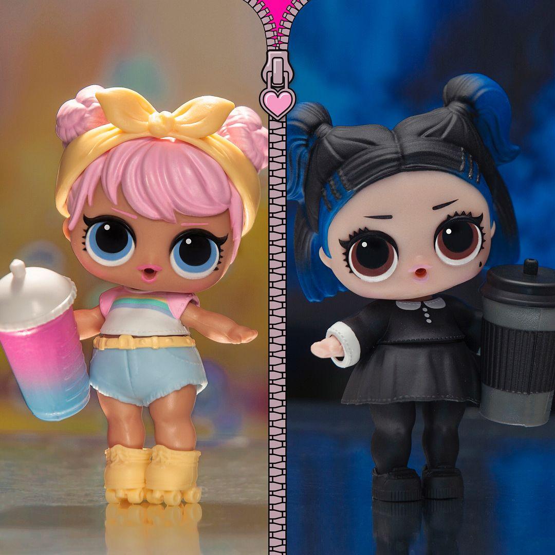 LOL Surprise Doll /'s Accessory Black Shoes for Punk Boi confetti pop series 3