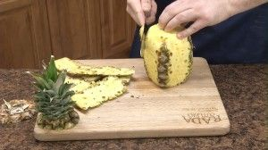 How to Cut a Pineapple | Bites, Strips, Cascaded Strips, Chopped