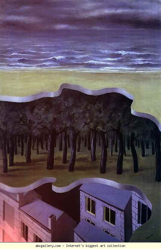 René Magritte. Panorama populaire. 1926. Oil on canvas. 120 x 80 cm.