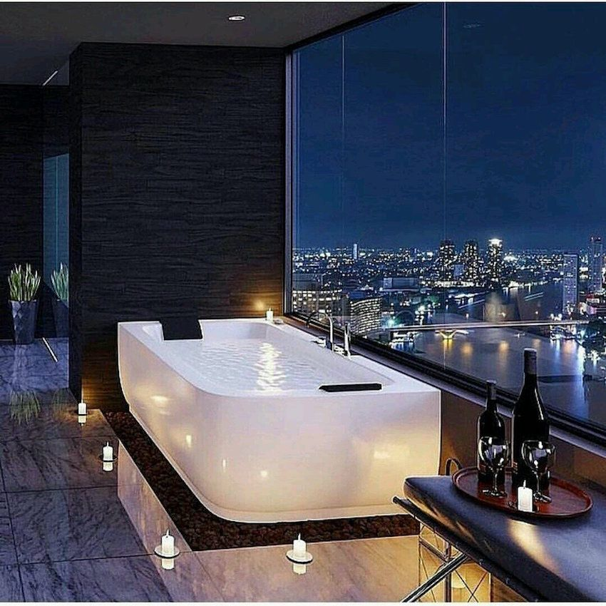 10 Luxury Bathtubs with an Astonishing View in 2018 | Bathrooms with ...