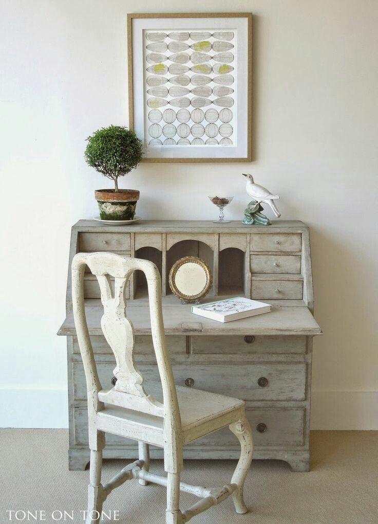C mo transformar un bur antiguo para que tenga aire - Transformar muebles antiguos ...
