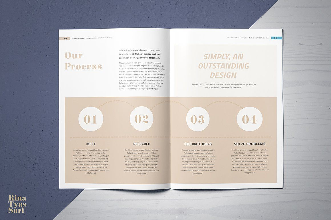 Encore Brochure #Paragraph#Style#Character#Include