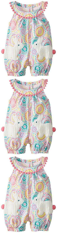 df3cc844e Mud Pie Baby-Girls Bunny Pocket Romper | Rompers | Mud pie baby ...