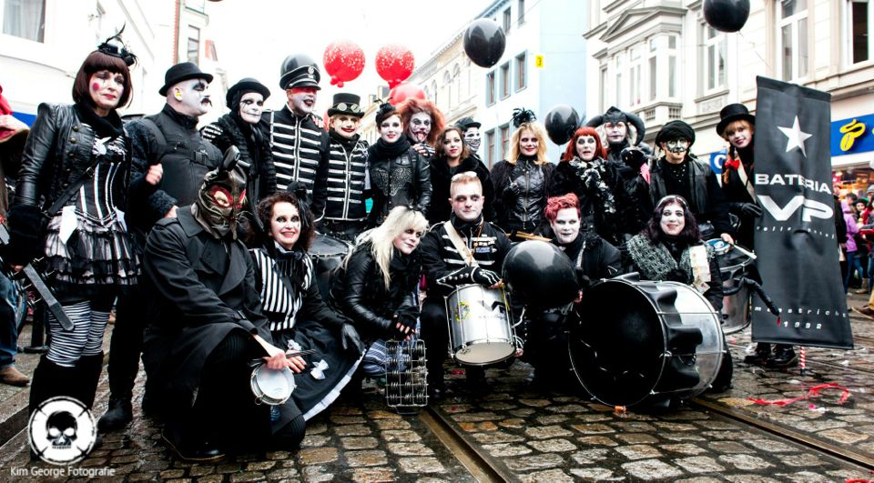Maastricht Halloween.Proud Of Our Awesome Sambaband Volle Petaj From The