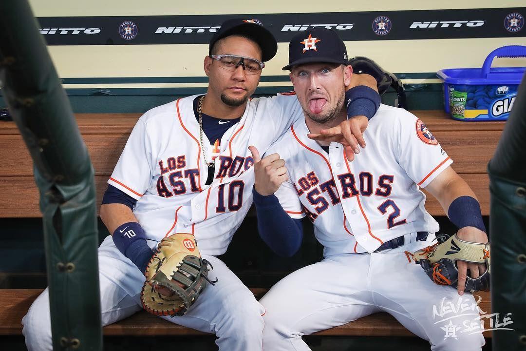 Just guys bein dudes Houston astros, Astros baseball, Astros