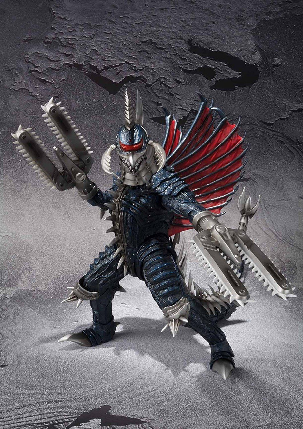 Amazon.com: Bandai Tamashii Nations S.H.MonsterArts Gigan ...