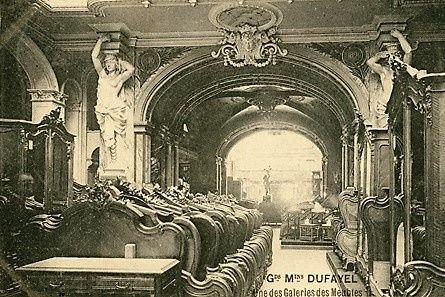 La galerie des meubles des grands magasins dufayel paris - Magasins de meubles ile de france ...