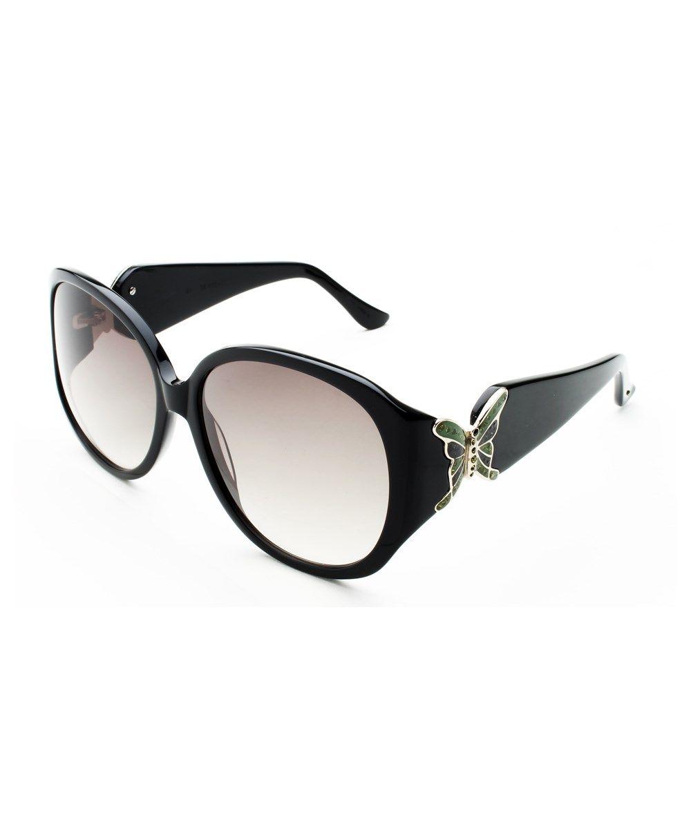 5eb7f8c2f5f JUDITH LEIBER Judith Leiber Women s Butterfly Sunglasses Black.   judithleiber