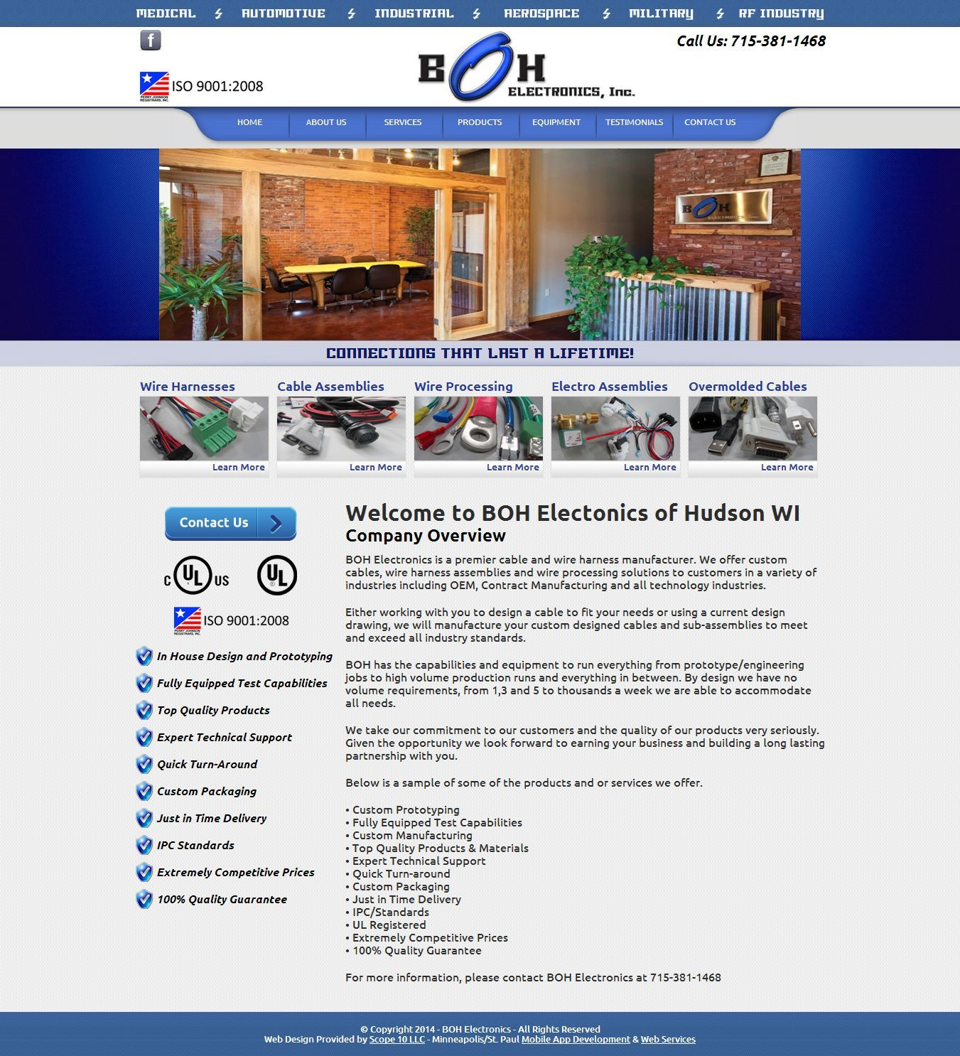 Scope10com Boh Electronics Bohelectronicscom Is A Wiring Harness Company Premier Cable And Wire Manufacturer They Offer Custom Cables Assemblies Processing Solutions To