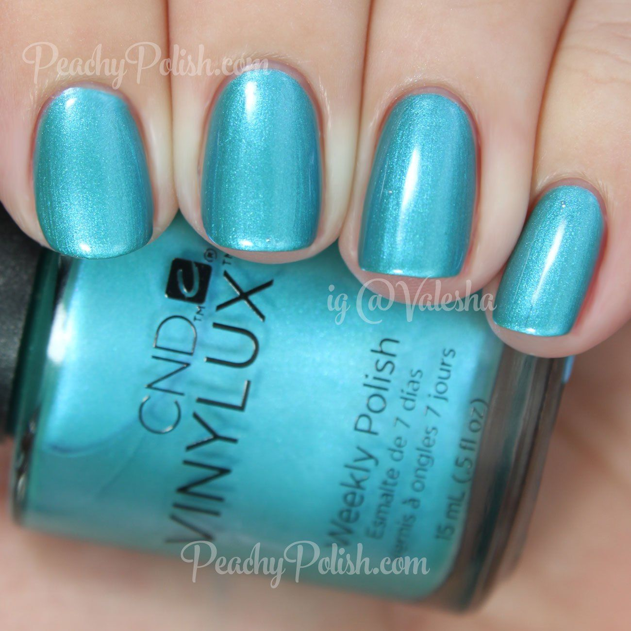 Summer 2015 Nail Colours: CND VINYLUX Lost Labyrinth