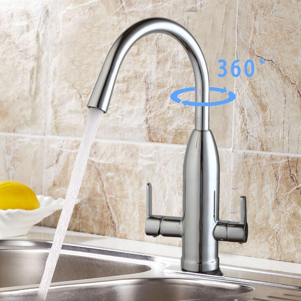 Modern Washroom Kitchen Copper Sink Faucet Basin Water Filter Mixer Tap B