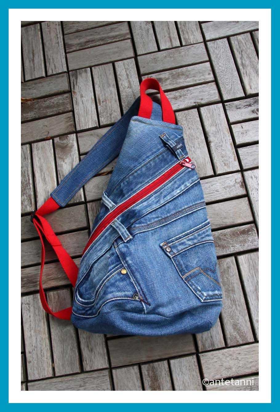 Photo of Crossbag aus Jeans | antetanni näht