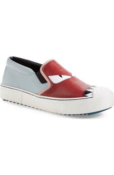 f2bf7cf68c7d FENDI Monster Sneaker (Women).  fendi  shoes