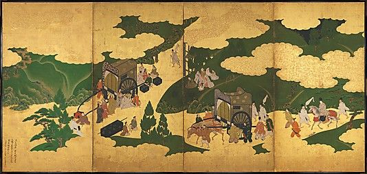 Scenes from the Tale of Genji: