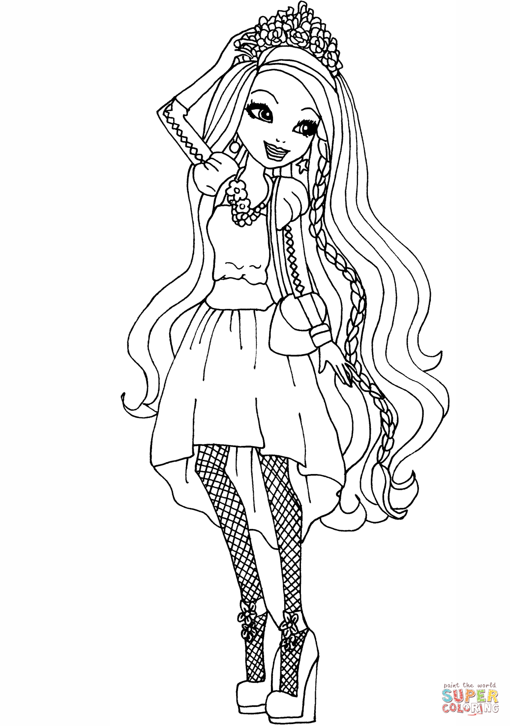 Monster High Meerjungfrau Ausmalbilder : Resultado De Imagem Para Ever After High Ginger Para Colorir Todas