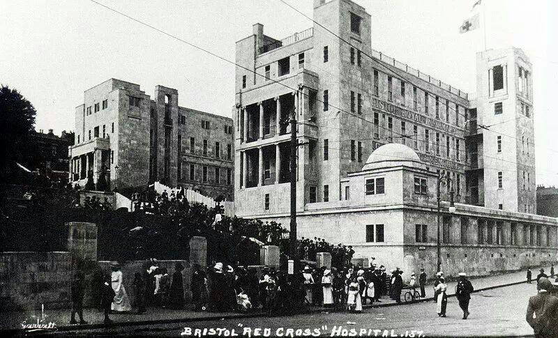 Alferd hill steps bristol new hospital bristol city