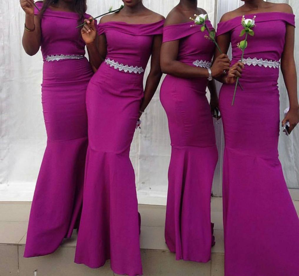 Bridesmaid dressesoff shoulder bodycon bridesmaid dresses long