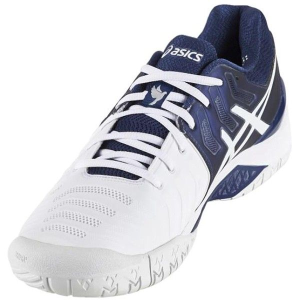 To be at the top you have to keep moving in the new Asics Men`s Limited  Edition Gel-Resolution7 Novak Djokovic Tennis Shoes! The two-tone sneaker  has white ...