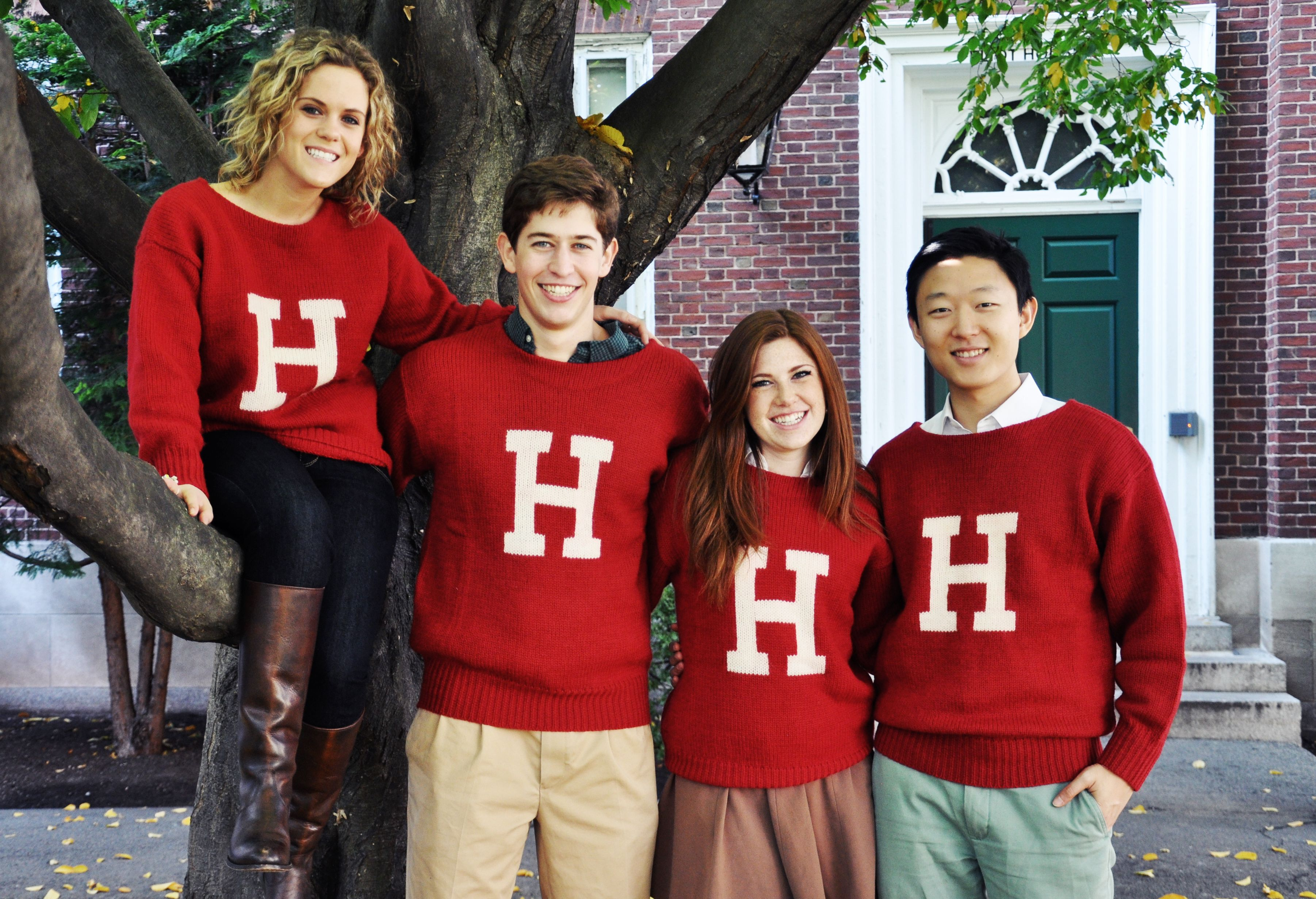 The Harvard H Sweater....