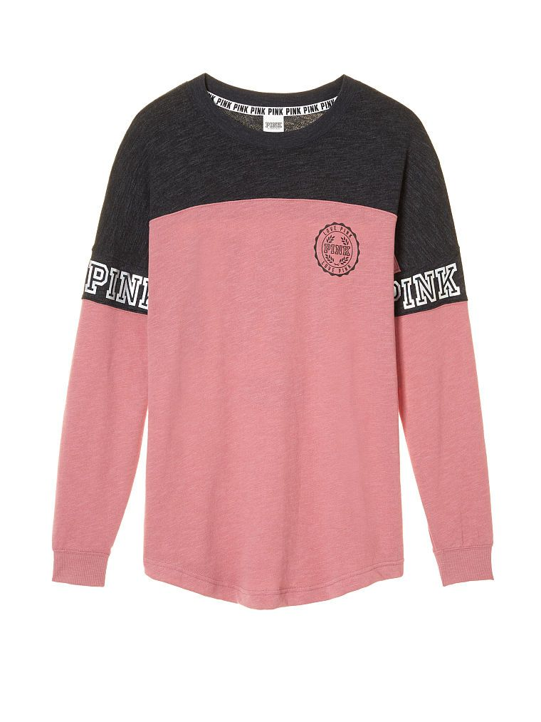 f774639d8b818 Varsity Crew - PINK - Victoria's Secret | FASHION | Pink outfits ...