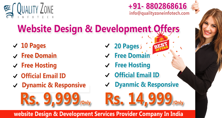 We At Quality Zone Infotech Offering Cheap And Best Website Design And Development Packages In India F Website Development Fun Website Design Ecommerce Website