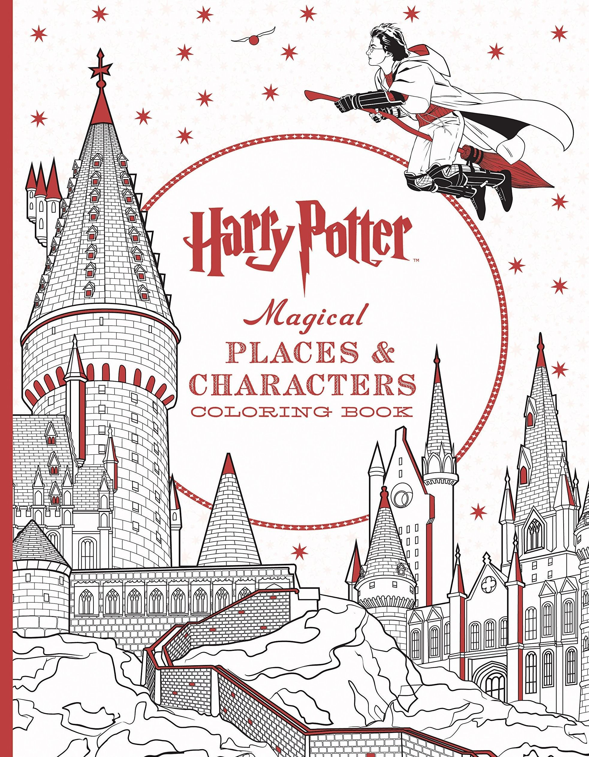 Movie Treasures By Brenda Harry Potter Coloring Books Harry Potter Coloring Book Harry Potter Colors Harry Potter Gifts