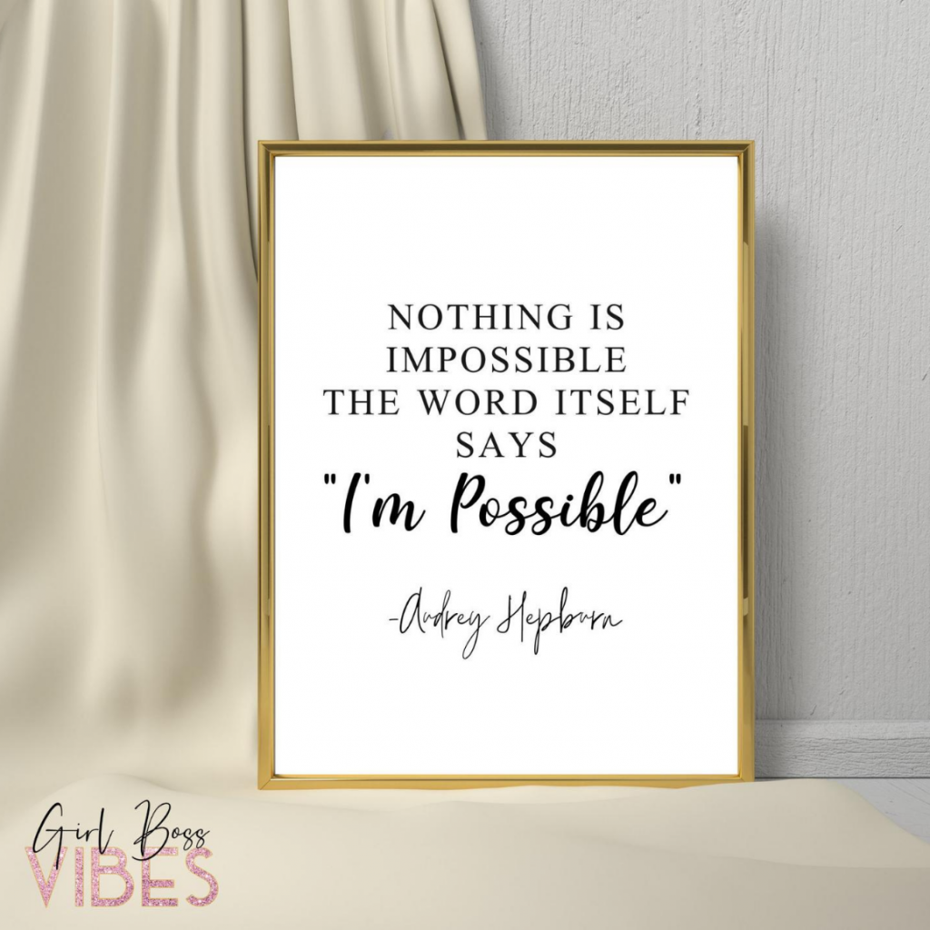 Motivational Quotes for Life - Girl Boss Vibes
