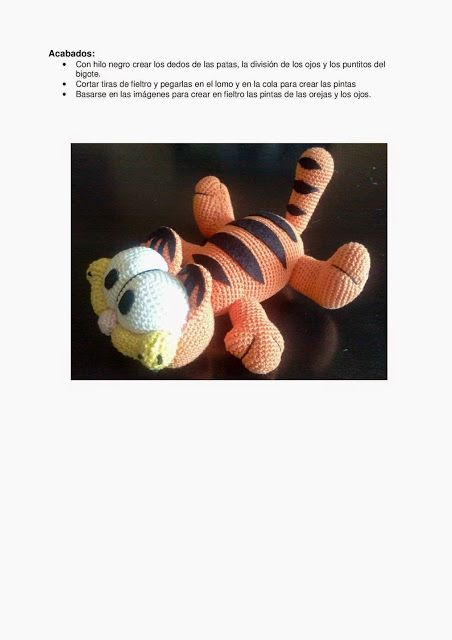 Cat Garfield Free Crochet Pattern | Crochet patterns amigurumi ... | 640x452