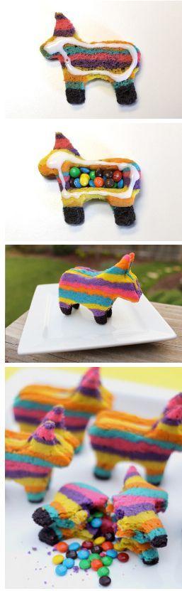 Photo of Ja, es ist ein mexikanischer Pinata-Keks! In diesen Farben verstecken sich echte…