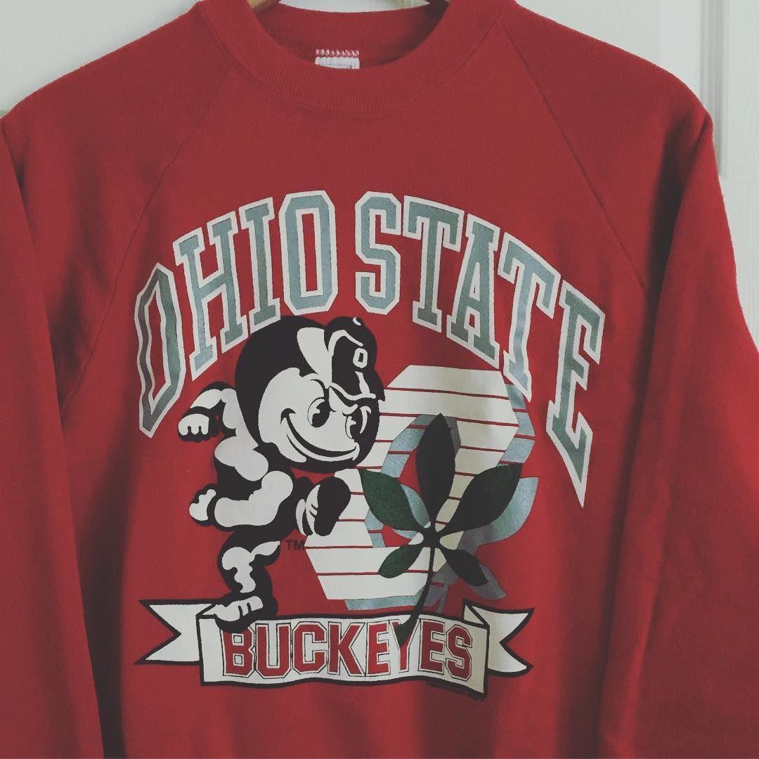 Sold Vintage Ohio State Buckeyes Sweatshirt Osu Buckeyes Vintagestyle Vintage Sweatshirt Osu Sweatshirt Sweatshirts [ 1080 x 1080 Pixel ]
