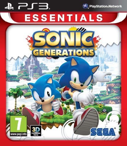 Sonic Generations Essentials Ps3 Find Out More About The Great Product At The Image Link Note It Is Affiliate Link Sonic Generations Generation Game Sonic
