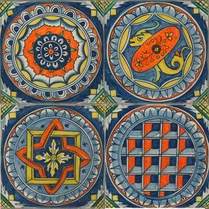 Decorative Picture Tiles Captivating Tile Murals Spanish Tile Victorian Tile Decorative Tile Design Ideas