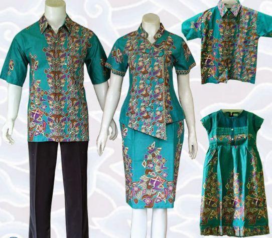 Model Baju Batik Modern Yang Baru Dan 10 Model Baju Batik Keluarga