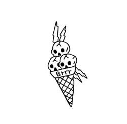 Gucci Mane Ice Cream Logos Gucci Mane Gucci Mane Tattoo Ice Cream Tattoo