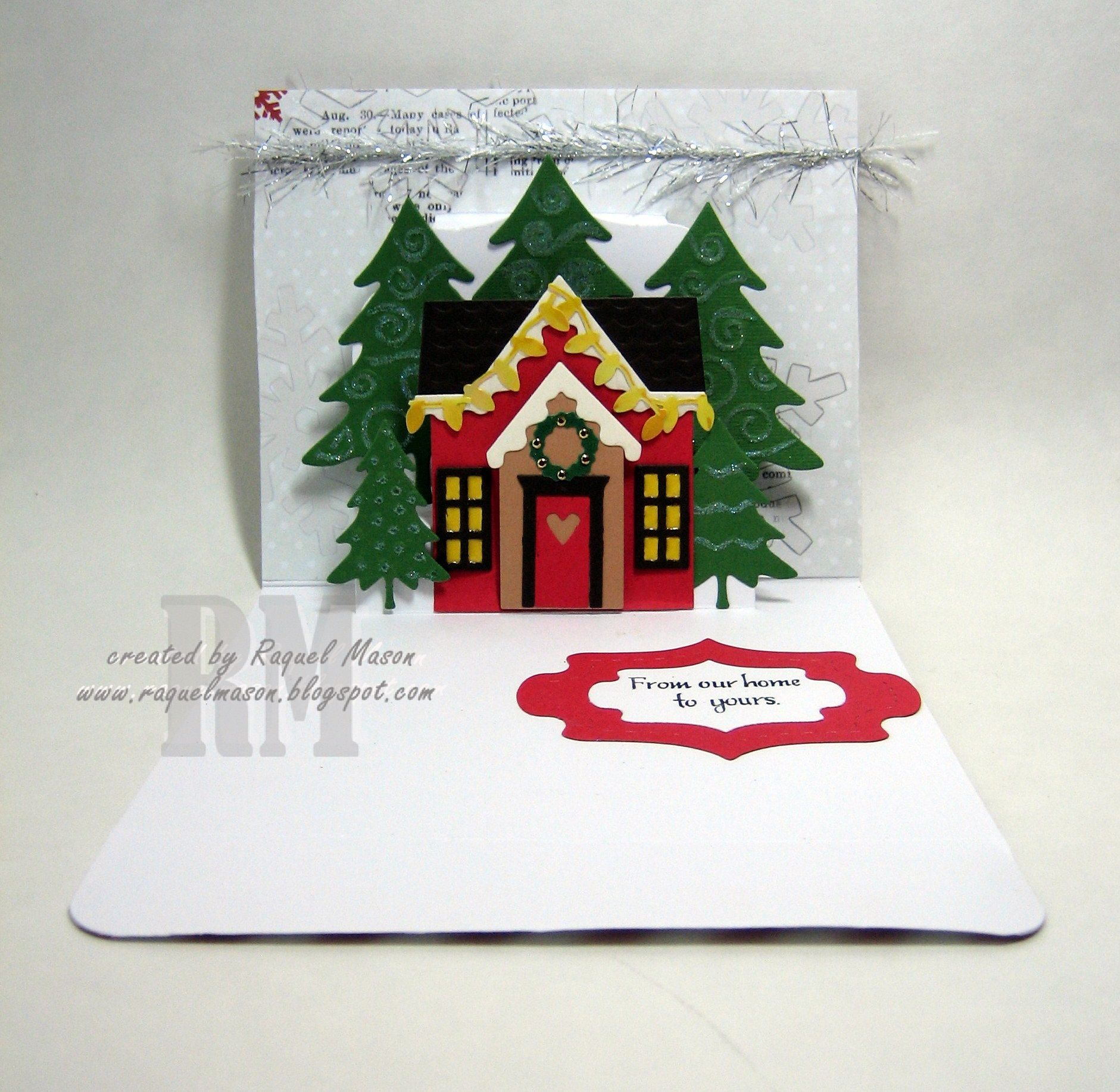 Pop It Ups Lorna Label with Holiday House   Christmas cards ...