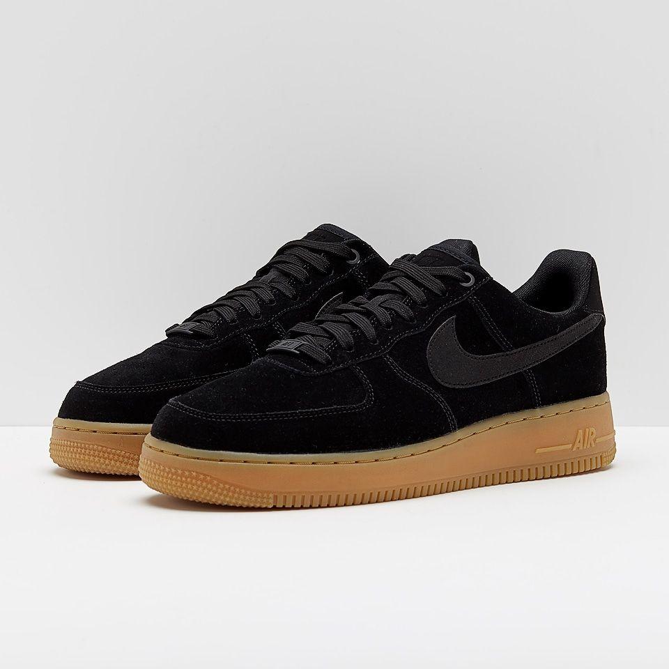 Femmes Nike Air Force 1 07 Apl Noir / Noir Suède