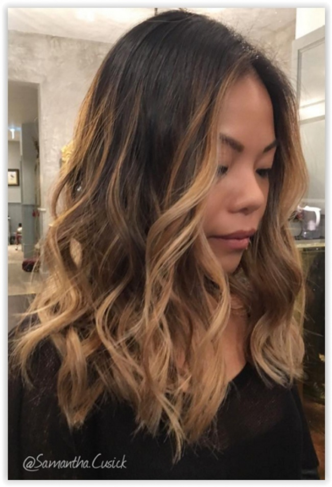 Ombre hair et m ches miel 20 mod les impressionnants beauty pinterest meche miel - Coupe ombre hair ...